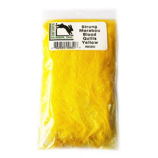 hareline_marabou_yellow